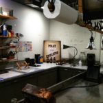 One of the basement darkrooms at GEH