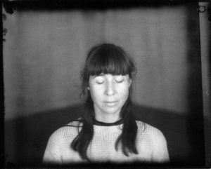 a contact print from New55 negative made by John Driggers at our inaugural Large Format workshop in 2016